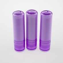 Cosmetic Plastic Makeup Packaging Purple Lip Balm Tubes