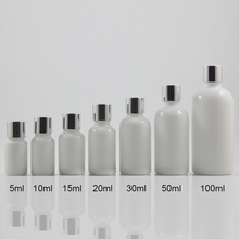 Multi-size Opal Pearl White Round Essential Oil Bottle