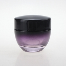 Black and Purple Lotion Pump Bottle with Black Cap