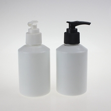 Large Capacity Opal Pearl White Glass Lotion Pump Bottle