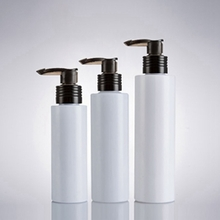 Wholesale White Cosmetic Lotion Pump Bottle with Black Head