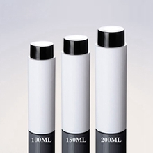 Wholesale White Lotion Bottle with Big Rotating Cover