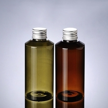 Wholesale Colored Bottles Amber Series with Rotating Cover