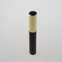 Black Empty Mascara Tube with Gold Cover for Cosmetic