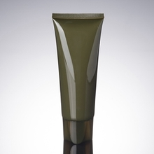 100ml Pickles Green PE Plastic Cosmetic Skin Care Tube