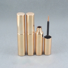 8ml Wholesale Cosmetic Eye Liner Tube in Gold