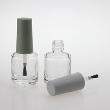 Wholesale Glass Nail Polish Bottles with Wide Bottom