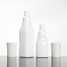 40ml 100ml 120ml Painted White Beauty Lotion Pump Bottle