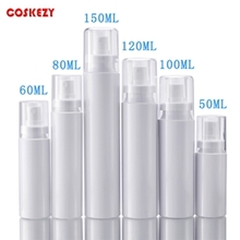 Multi-size White Round PET Mist Spray Pump Bottle