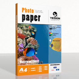 135gsm waterproof glossy photo paper A4