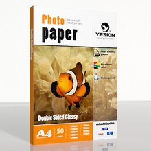 140gsm double sided glossy photo paper  A4