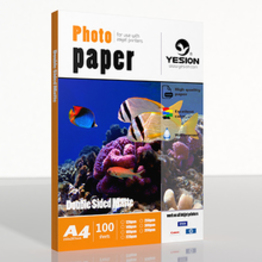 140gsm double sided matte photo paper   A4