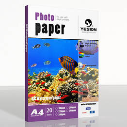260gsm RC satin(Semi-glossy) photo paper A4