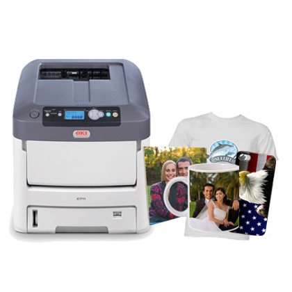 Laser printer color laser printer laser printer with white for T shirt laser printing
