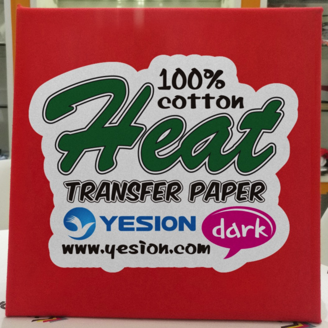 dark heat transfer paper