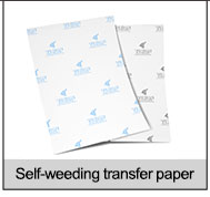 laser dark heat transfer paper
