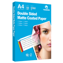Double sided matte photo paper A4 and A3