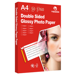 Yesion double sided glossy photo paper