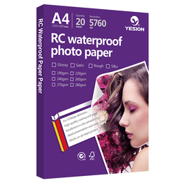 Yesion glossy /rough/satin/woven photo paper 4R