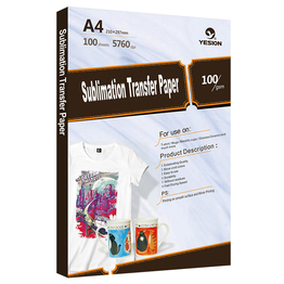 100gsm sublimation transfer paper A4