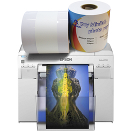 260gsm glossy dry minilab photo paper