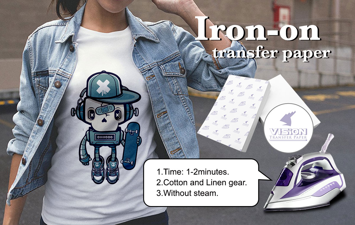 How To Iron On T Shirt Transfer Paper - DREAMWORKS