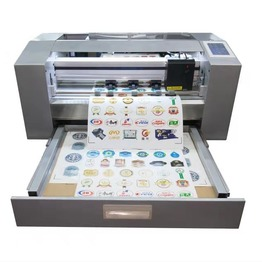 A3 auto-feeding sheet label cutter