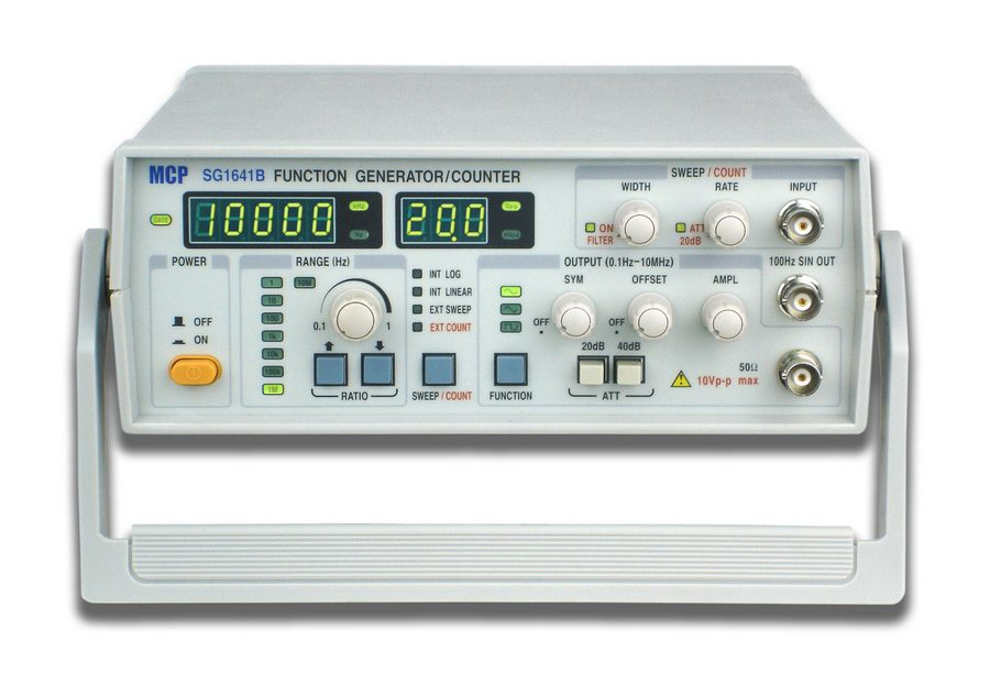 Frequency Counter Theory : Sg a b function generator tenma audio