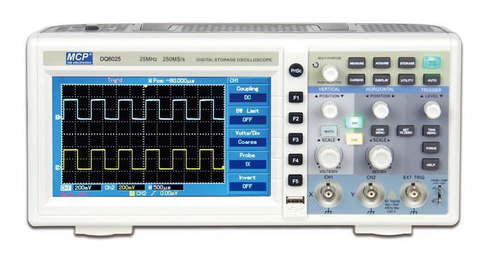 Digital Oscilloscope Basics : Dq series digital oscilloscope analog