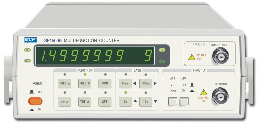 Frequency Counter Theory : Sp b test instruments digital timer board
