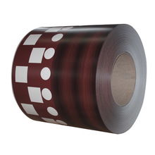 Product Wood Color Coated Galvanized Steel Sheet Wood