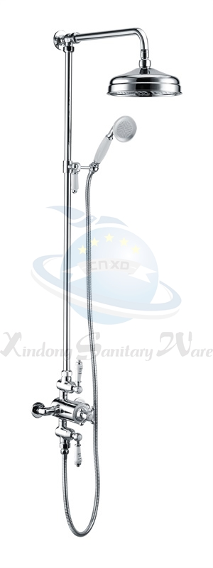 product k202a traditional thermostatic shower set taps faucets kitchen range manufacturers. Black Bedroom Furniture Sets. Home Design Ideas