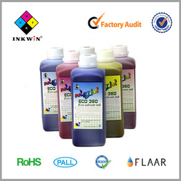 Green ECO-360 Solvent ink for XAAR1201