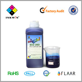 Green ECO-360 Solvent ink for Konica Spectra512