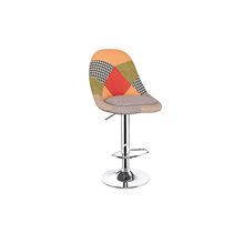 Patchwork Fabric Cover Bar Stool (Bavi)