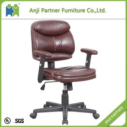 Low price modern style low back leather office chair (Sibyl)