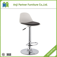 Buy direct from china factory wood bar stool with soft pad bar stool accessories(Beatrice)