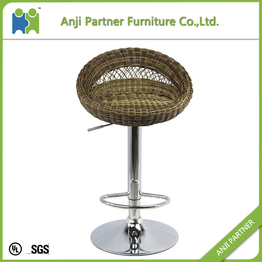 High quality elegant modern designer rattan weave bar chair bar stool(Mawar)
