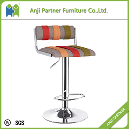 Patchwork Fabric Bar Stool (Malou)