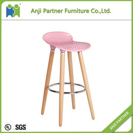 New products 2017 innovative product unswivel metal frame bar stool(Barry)