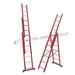 Fiberglass combination ladder