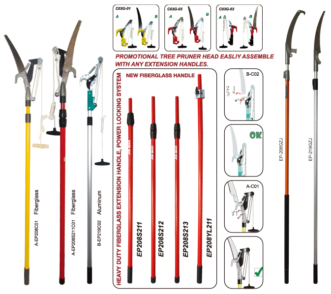 High tree pruners garden tools garden tools maintenance for Gardening tools menards