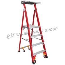 High grade fiberglass platform step ladder  FO19