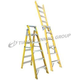 fiberglass step extension ladder