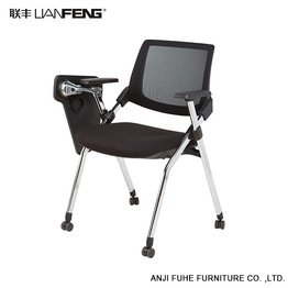 Affordable High quality movable pp office chair with aluminum base