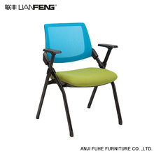 Durable foldable high back office chair for commerce