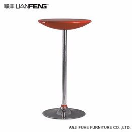 High quality red round moderm bar table