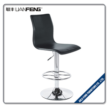LIANFENG high back resting resturant PU leather bar stool