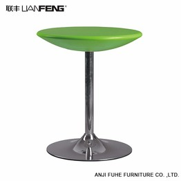 Nice-looking green round moderm bar table