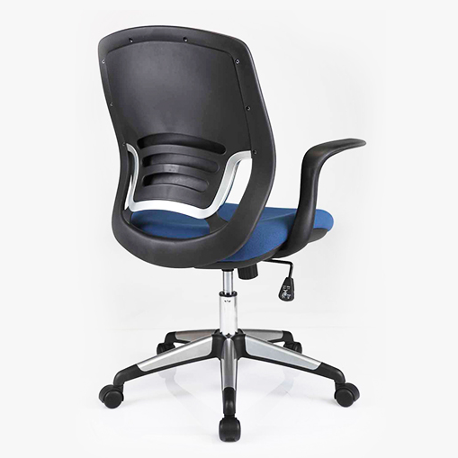 comfortable white desk chair